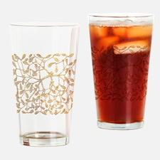 Mistletoe Drinking Glass