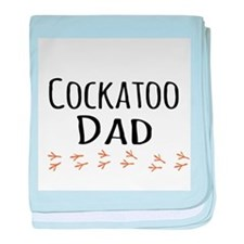 Cockatoo Dad baby blanket