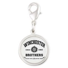 SUPERNATURAL Winchester Brothers Silver Round Char