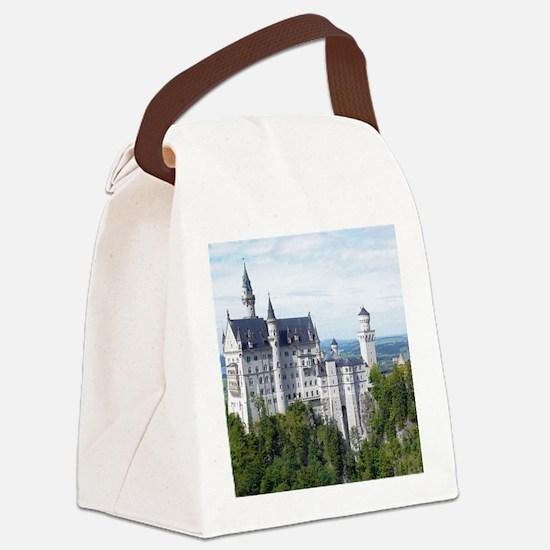 Neuschwanstein001 Canvas Lunch Bag
