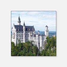 "Neuschwanstein001 Square Sticker 3"" x 3"""