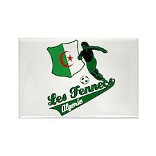 Algerian soccer Rectangle Magnet