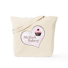 Mellark Bakery Heart Tote Bag