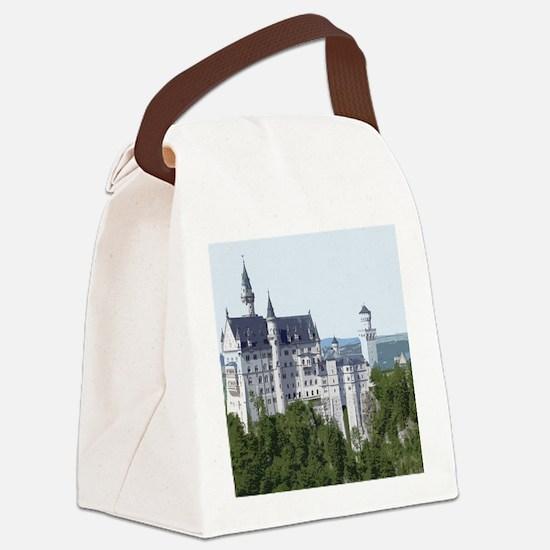 Neuschwanstein002 Canvas Lunch Bag