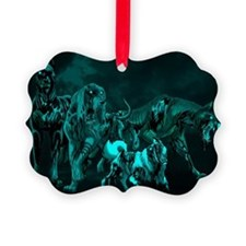 Zombie Hounds  Ornament