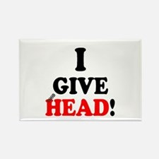 I GIVE HEAD! Magnets