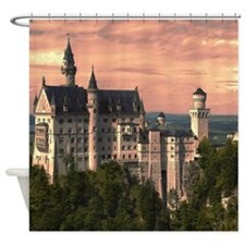 Neuschwanstein003 Shower Curtain