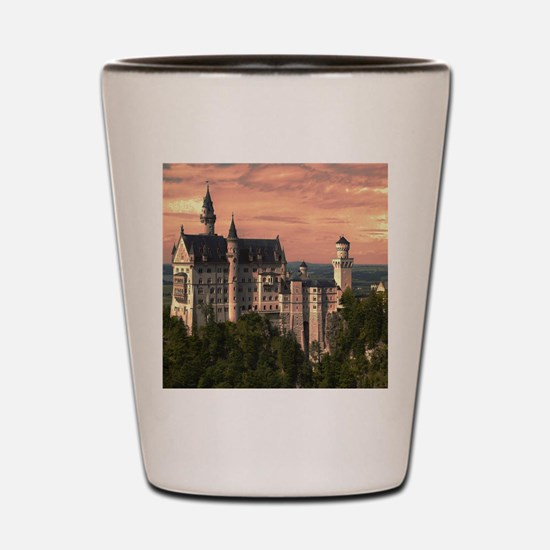 Neuschwanstein003 Shot Glass