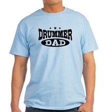 Drummer Dad T-Shirt
