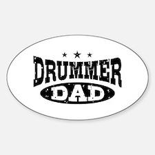 Drummer Dad Decal