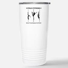 Pole Fitness Beauty Strength Pride Black Travel Mu
