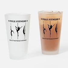 Pole Fitness Beauty Strength Pride Black Drinking