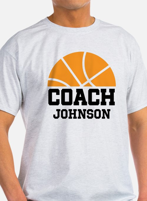 personalized basketball coach t shirts shirts tees custom personalized basketball coach. Black Bedroom Furniture Sets. Home Design Ideas