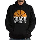 Basketball coach Dark Hoodies