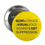 """Silent By Choice 2.25"""" Button"""