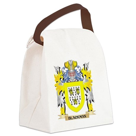Blackman Coat of Arms - Family Cr Canvas Lunch Bag