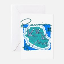 reunion island Greeting Cards (Pk of 10)