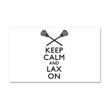 Keep Calm And Lax On Car Magnet 20 x 12