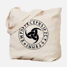 Odin Horn Shield Tote Bag