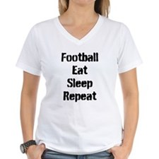Football Eat Sleep Repeat T-Shirt