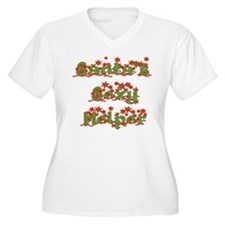 Santas Sexy Helper Plus Size T-Shirt