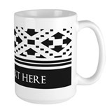Monogram Large Mugs (15 oz)