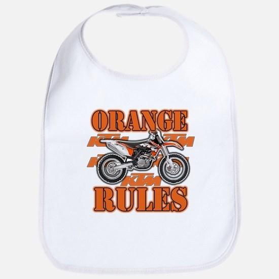 Orange Rules Bib