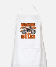 Orange Rules Apron