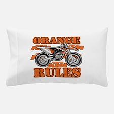 Orange Rules Pillow Case
