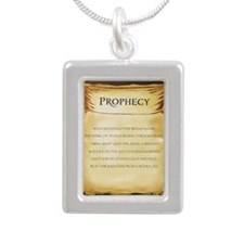 The prophecy from Mark o Silver Portrait Necklace