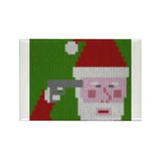 Suicidal Santa Magnets