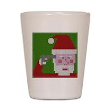 Suicidal Santa Shot Glass