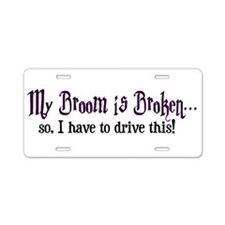 Hogwart Aluminum License Plate