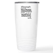 Method in Madness Shakespeare Travel Mug