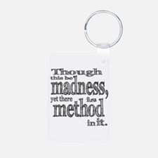Method in Madness Shakespeare Keychains
