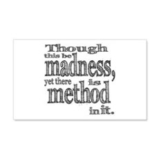 Method in Madness Shakespeare Wall Decal