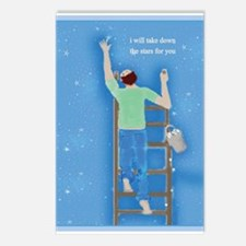 Boy With Stars Postcards (Package Of 8)