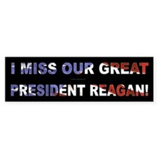 President Reagan Bumper Bumper Sticker