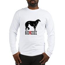 BORZOI BLACK Long Sleeve T-Shirt