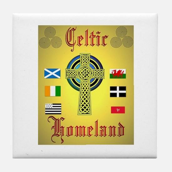 Celtic Homeland.:-) Tile Coaster