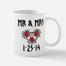Mr Mrs Personalized dates Mugs