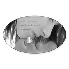 romantic kiss Decal