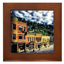 Deadwood, South Dakota Framed Tile