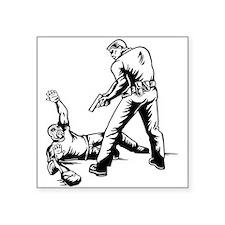 Police Capturing Thief Sticker