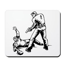 Police Capturing Thief Mousepad