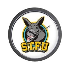 STFU Wall Clock
