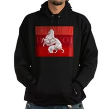 Red Borzoi Hoodie