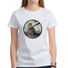 Chipmunk Eating a Cheez-it Shir T-Shirt