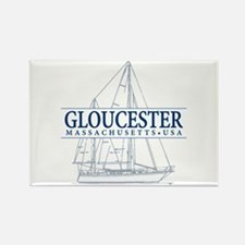 Gloucester - Rectangle Magnet