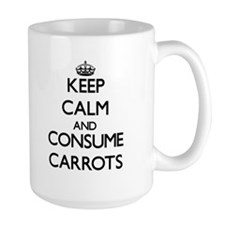 Keep calm and consume Carrots Mugs